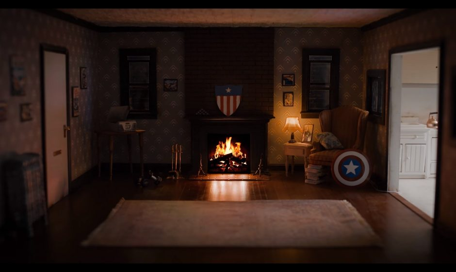 Проведите новогоднюю ночь в гостиной Капитана Америка