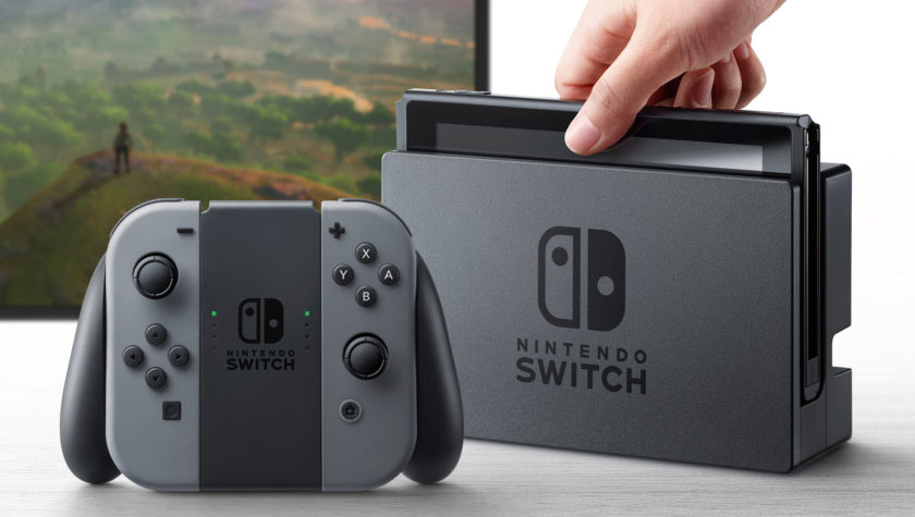 Демонстрация Nintendo SWITCH