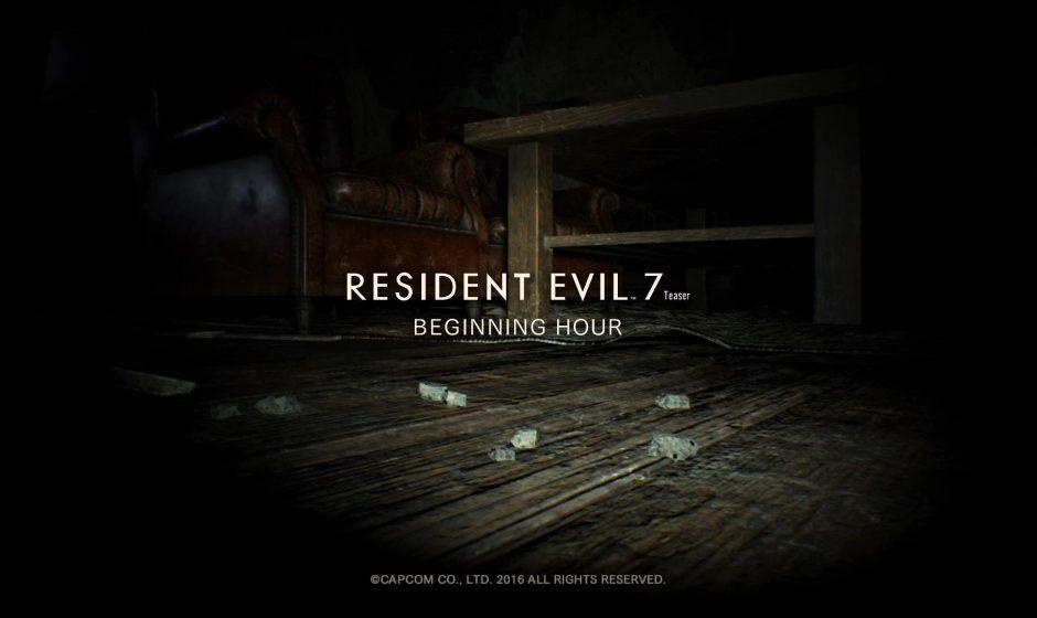 Demo Resident Evil 7 доступна на ПК