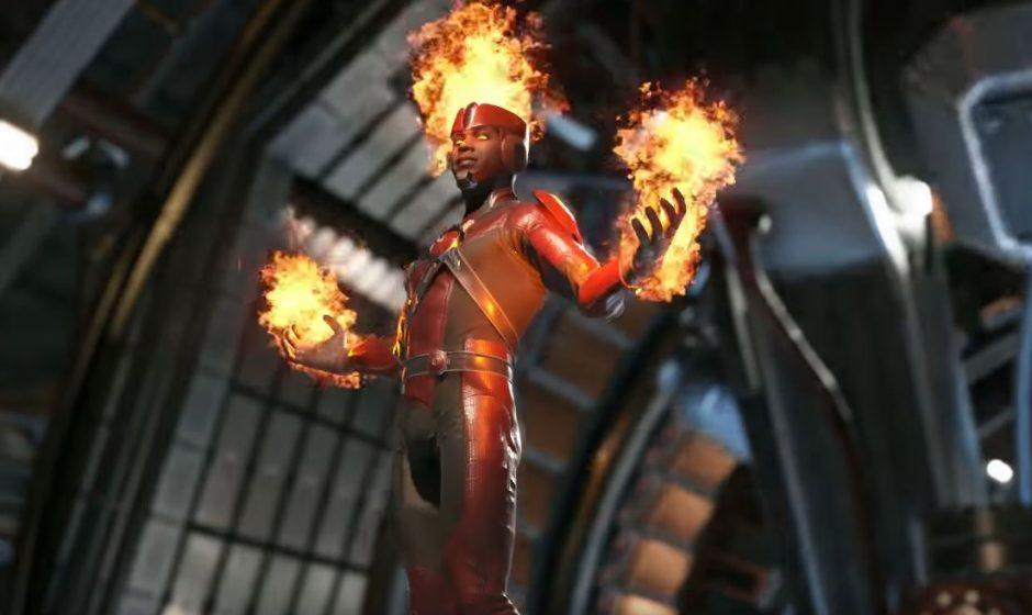 Injustice 2 показали Огненный Шторм
