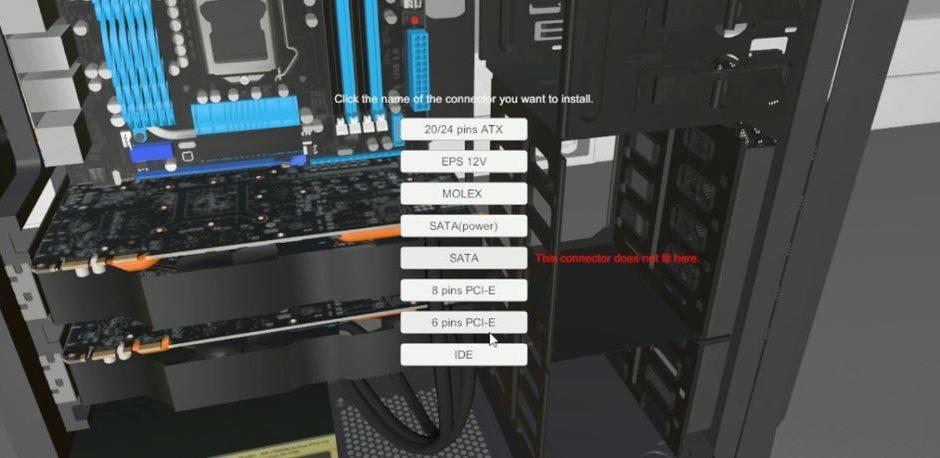 PC Building Simulator - симулятор, который не работает