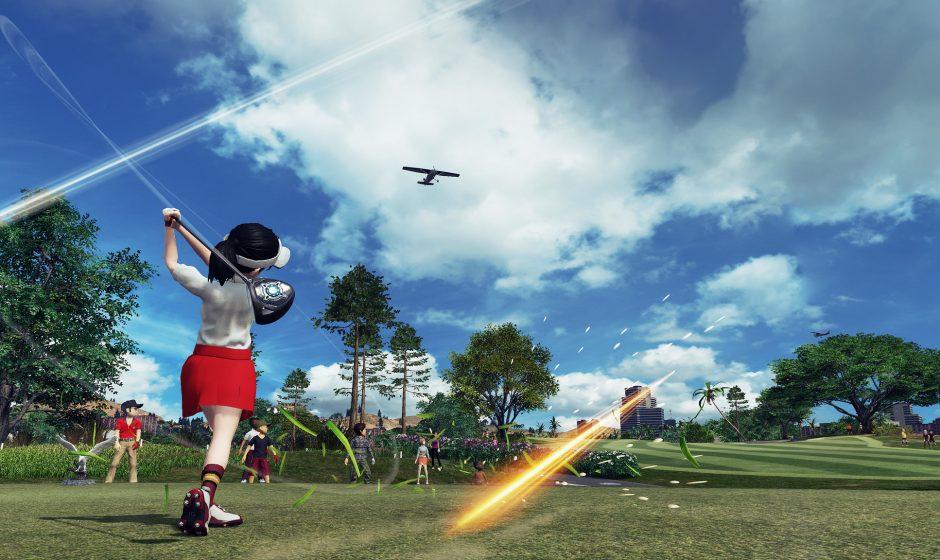 Everybody's Golf выйдет 30 августа на PS4