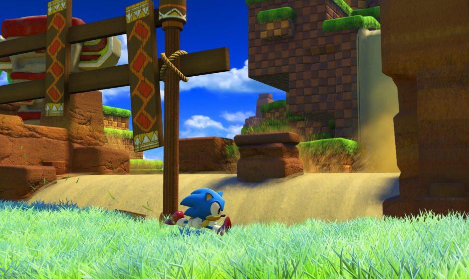 Sonic Forces - классический вид сбоку