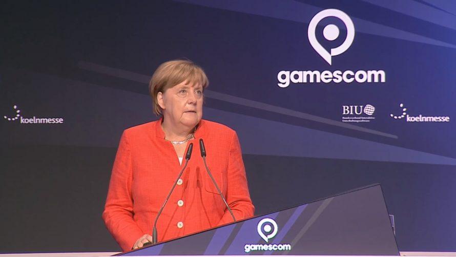 Открытие Gamescom 2017: Ангела Меркель и видеоигры