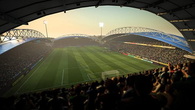 Стадионы в FIFA 18