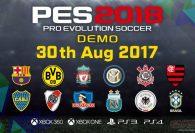 На следующей неделе появится демо Pro Evolution Soccer 2018