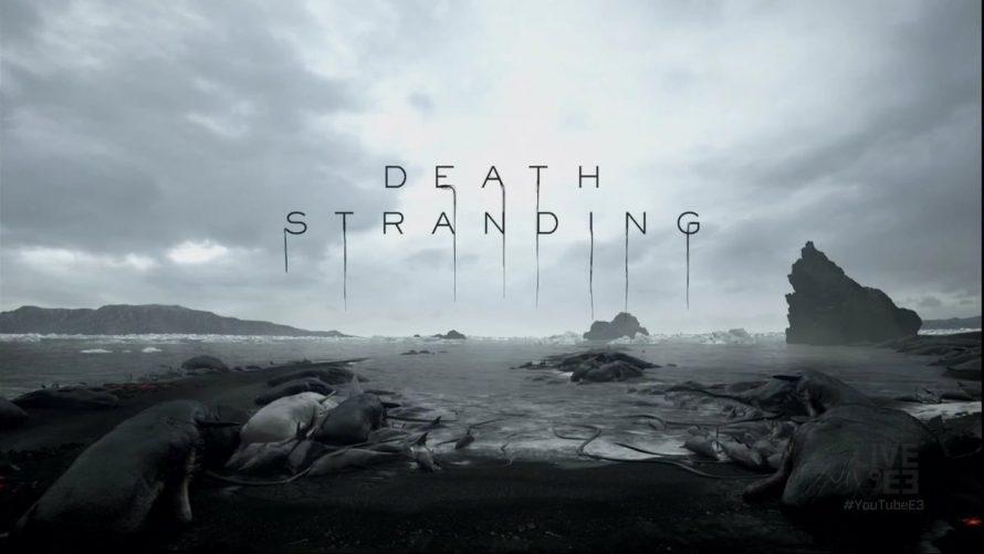 Death Stranding: работа над сценарием кипит