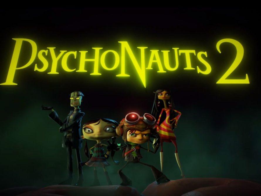 Новое геймплейное видео Psychonauts 2