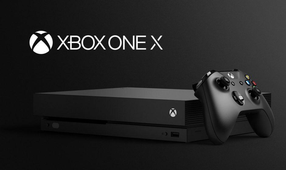 Старт продаж Microsoft Xbox One X
