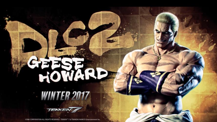 Geese Howard — новый боец Tekken 7