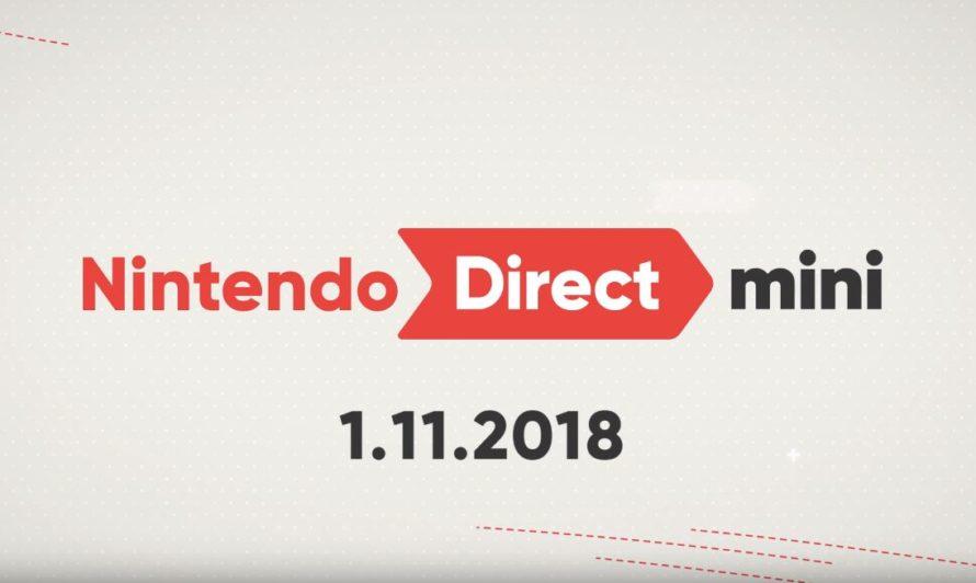Сюрприз: Nintendo Direct Mini январь 2018