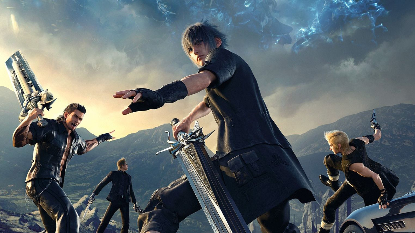 Final Fantasy XV игра без смс