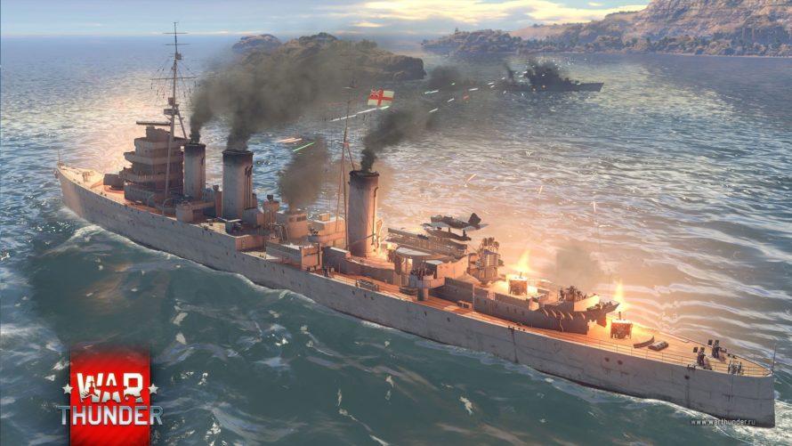 War Thunder начинает тест новых крейсеров