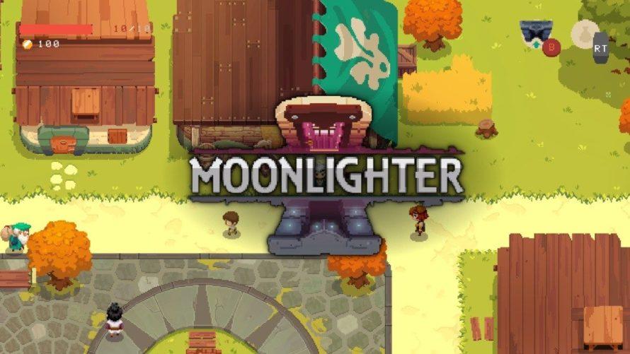 Moonlighter показали новый трейлер