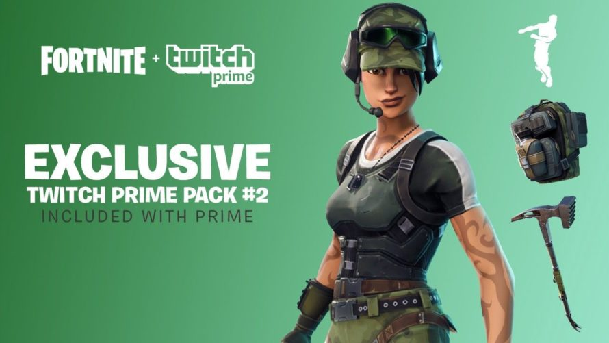 Twitch Prime дарит лут для Fortnite