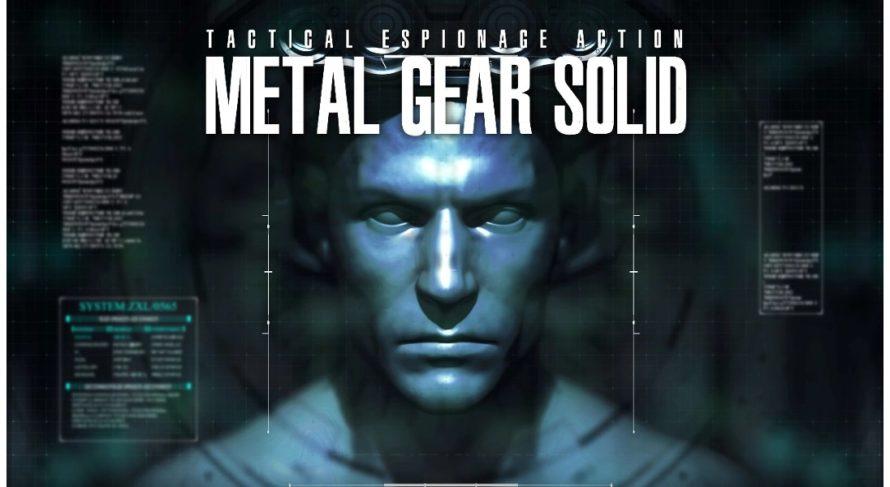 Metal Gear Solid: ремейк интро в 4K