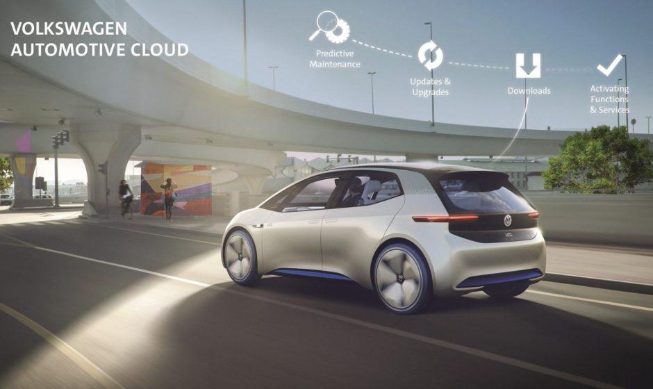 Volkswagen и Microsoft подключат автомобили к облаку