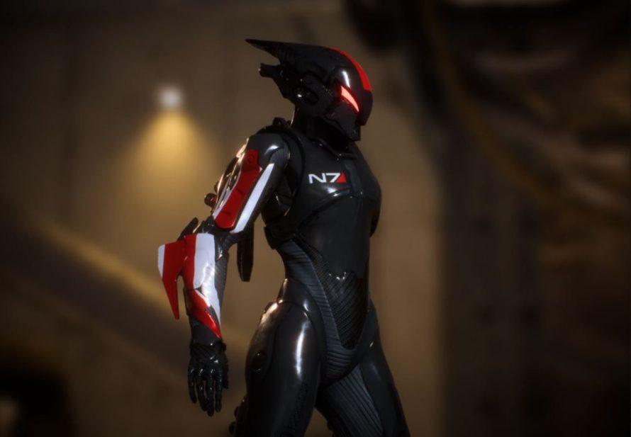 Anthem получил броню из Mass Effect