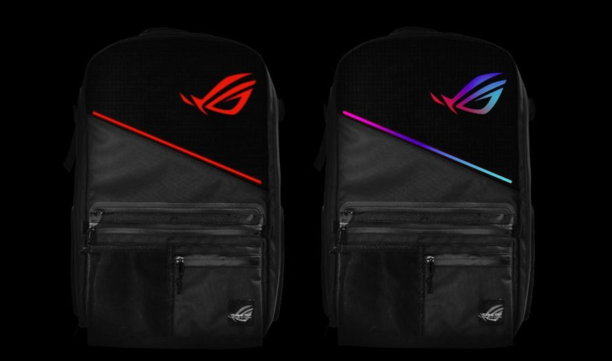 RGB-рюкзак светится и заряжает