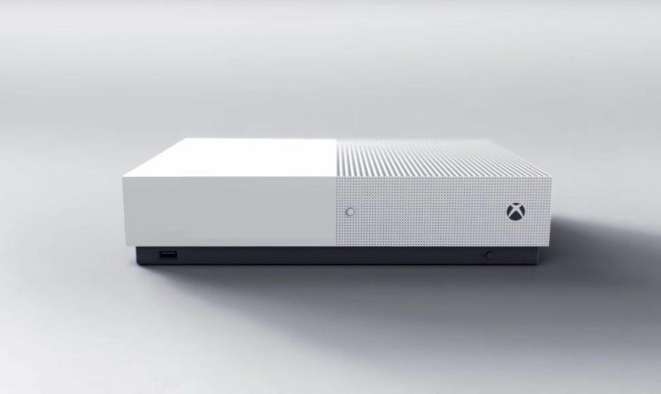 Xbox One S - консоль без дисковода