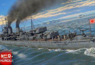 В War Thunder идет японский флот