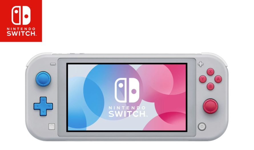 Switch Lite: Nintendo раскрыла новую модель