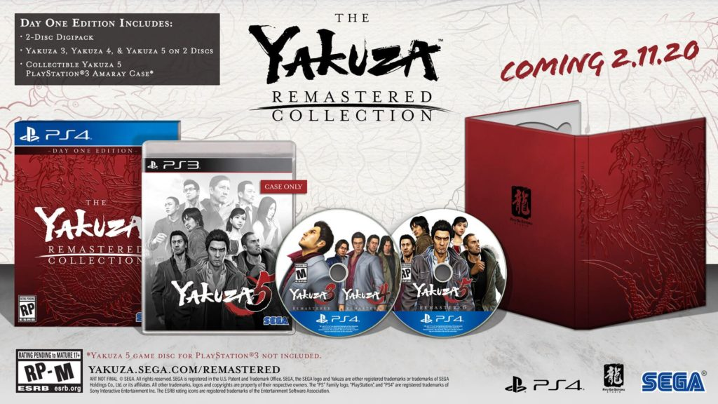 Remastered Collection Yakuza