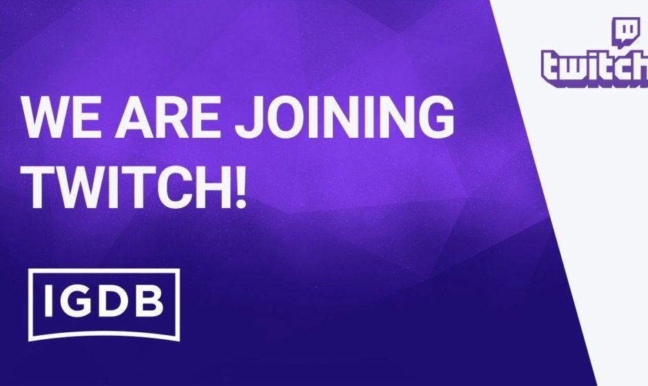 Internet Gaming Database присоединяется к Twitch