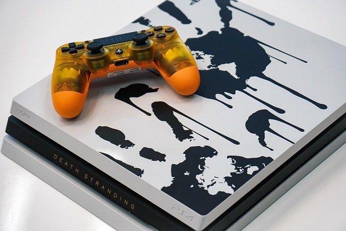Death Stranding получает лимитированную PS4 Pro
