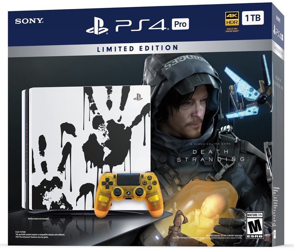 Death Stranding Limited Edition PS4 Pro
