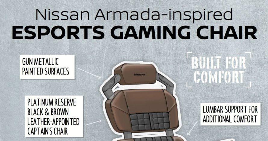 Nissan представила концепт геймерского кресла