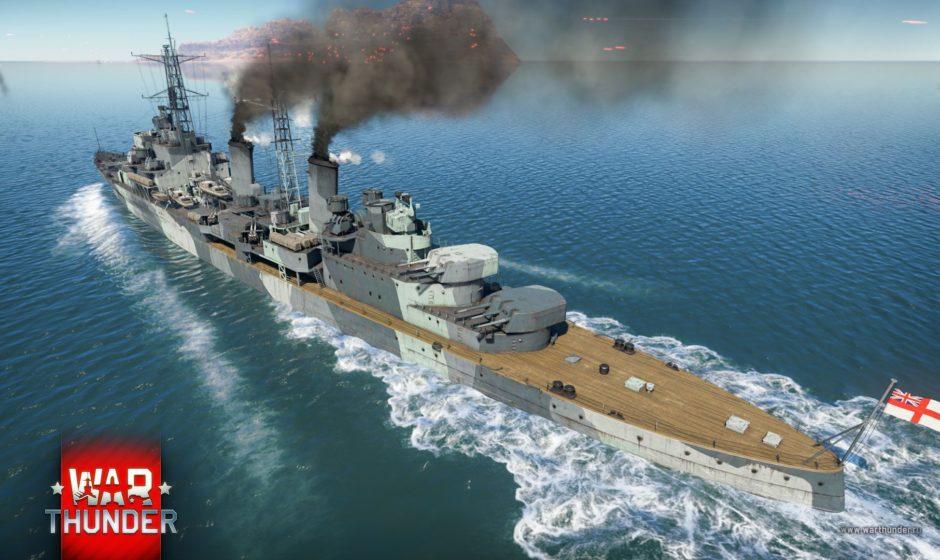 В War Thunder появился легендарный крейсер «Белфаст»