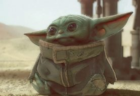 Baby Yoda – неофициальная плюшевая игрушка