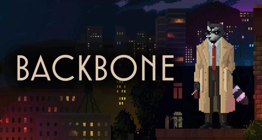 Backbone — нуарная игра про енота