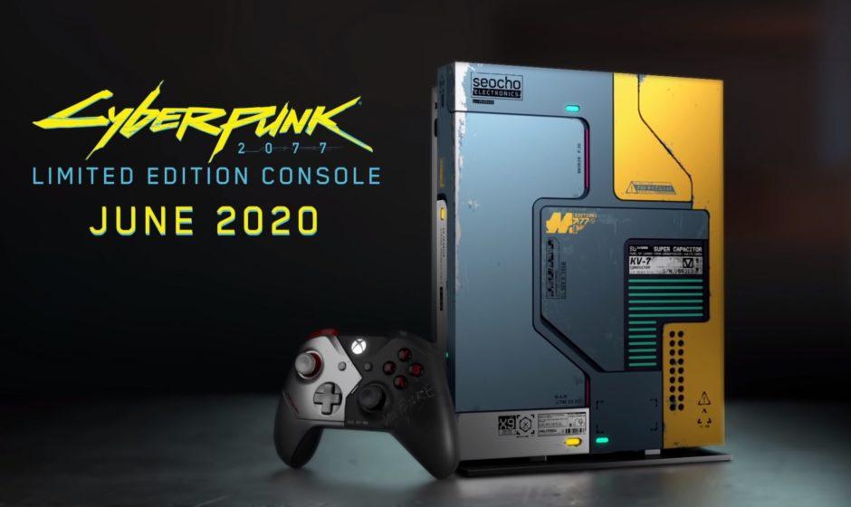 Cyberpunk 2077 вдохновил на создание лимитированного Xbox One X