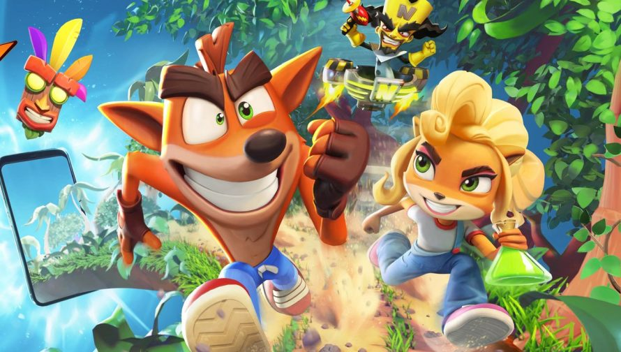 Crash Bandicoot: On The Run — новая мобилочка по Крэшу
