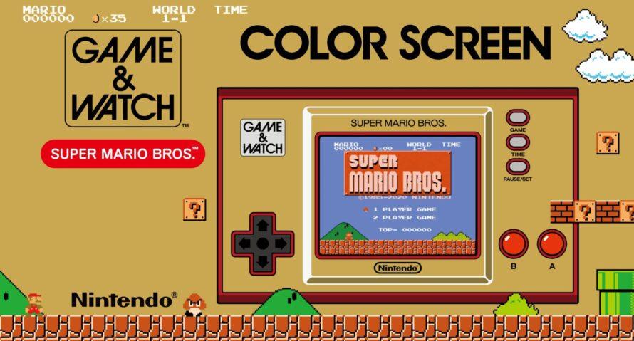 Game & Watch: Super Mario Bros. имеет множество секретов