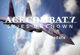 Свежие скинчики для Ace Combat 7