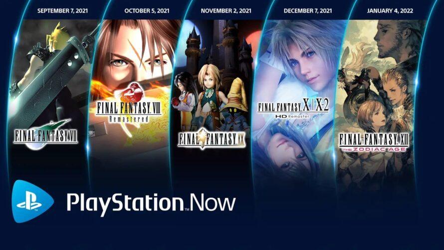 Классика Final Fantasy по подпискам