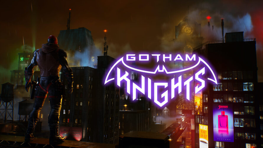 Свежий арт предстоящей Gotham Knights
