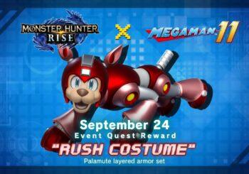 Monster Hunter Rise плюс Mega Man 11