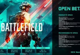 Открытая бета Battlefield 2042 через неделю