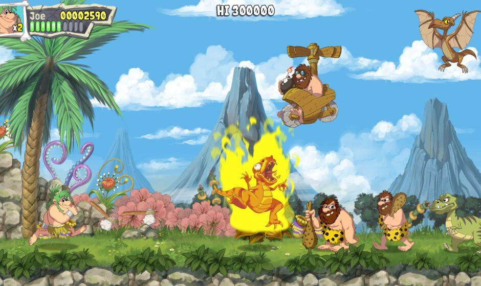 Анонсирован Joe & Mac: Caveman Ninja
